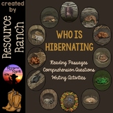 Hibernation Reading Comprehension Passages and Activities