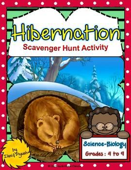 Hibernation Scavenger Hunt