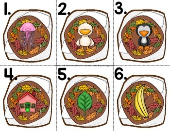 Hibernation Theme Read the Room for Initial Sounds