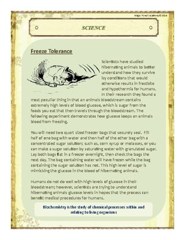 Hibernation Themed Nature Education Unit-Stage 2 (Magic Forest Academy)