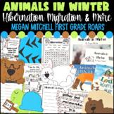 Animals in Winter Hibernation and Migration