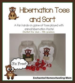 Hibernation Toss and Sort Game