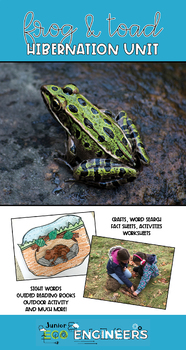 Hibernation Unit - What do Frogs & Toads do in the winter