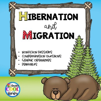 Hibernation and Migration - Nonfiction Task Cards and Worksheets