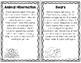 Hibernation and Migration - Nonfiction Task Cards and Worksheets