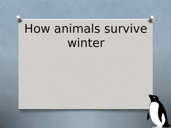 Hibernation and Migration PowerPoint