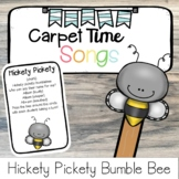 Hickety Pickety Bumble Bee Name Song   Carpet Time Song  
