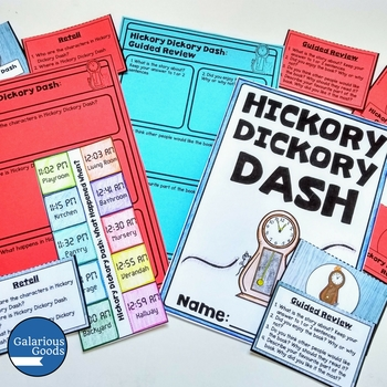 Hickory Dickory Dash by Tony Wilson - Picture Book Study