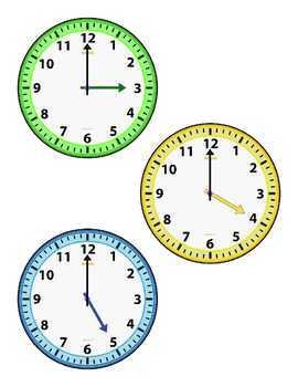 Telling Time with Hickory, Dickory Dock