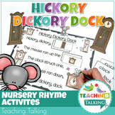 Nursery Rhyme Activities for Hickory Dickory Dock