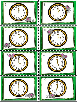 Hickory Dickory Dock Activity Pack