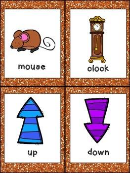 Hickory Dickory Dock Book, Poster,& MORE - Preschool Kindergarten Nursery Rhymes