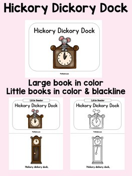 Hickory Dickory Dock Books & Sequencing Cards