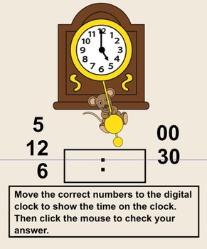 Hickory Dickory Dock Clock Time