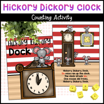Hickory Dickory Dock Counting Clock