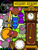 Hickory Dickory Dock {Creative Clips Digital Clipart}