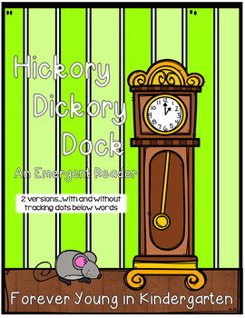 Hickory Dickory Dock Emergent Reader