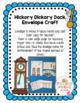 Hickory Dickory Dock Envelope Craft