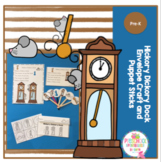 Hickory Dickory Dock Envelope Craft