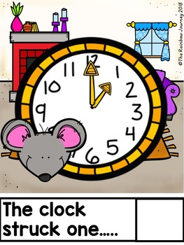 Hickory Dickory Dock Interactive Book