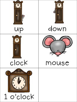 Hickory Dickory Dock Interactive Book and Activities