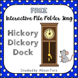 FREE Hickory Dickory Dock Interactive Song Speech Therapy