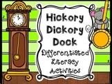 Hickory Dickory Dock Literacy Activities