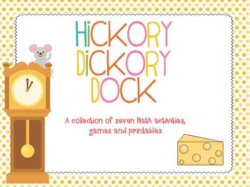 Hickory Dickory Dock - Math Activities