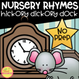 Hickory Dickory Dock No Prep Printables includes Posters, Readers and more!