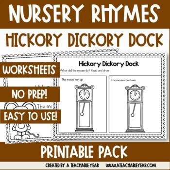 Hickory Dickory Dock- Nursery Rhyme