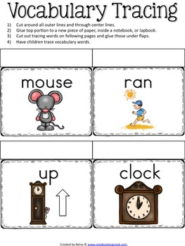 Hickory Dickory Dock Nursery Rhyme Activity Packet