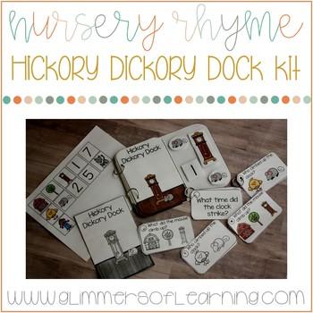 Hickory Dickory Dock Nursery Rhyme Kit