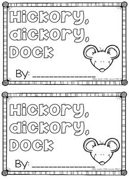 Hickory Dickory Dock: Nursery Rhyme Pack