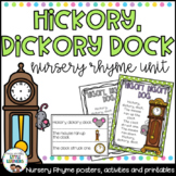 Hickory Dickory Dock: Nursery Rhyme Pack - Great for Distance Learning