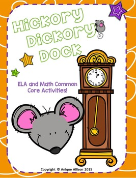 Hickory Dickory Dock Nursery Rhyme Pack!