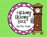 Hickory Dickory Dock Poem and Emergent Reader