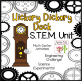 Hickory Dickory Dock STEM Nursery Rhyme Activities