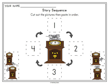Hickory Dickory Dock Activities