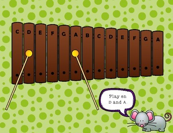 Hickory Dickory Dock - an Orff arrangement with a focus on ostinato