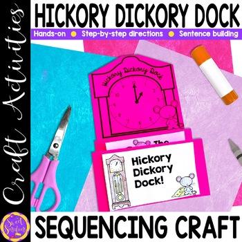 Hickory Dickory Dock craft activity