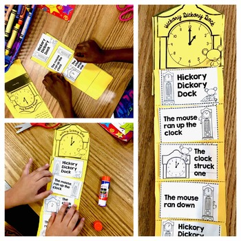 Hickory Dickory Dock   Nursery Rhyme Activities