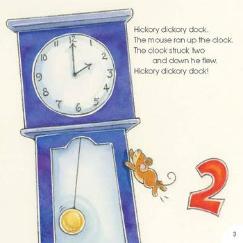 Hickory Dickory Dock eBook & Audio Track