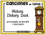 Hickory, Dickory, Dock en español