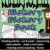 Hickory Dickory Dock nursery rhyme packet