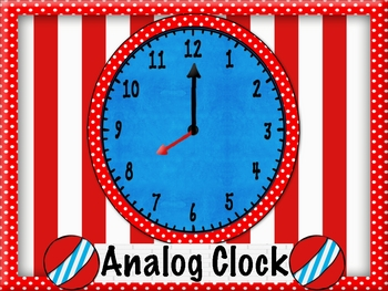 Hickory Dickory Dock the Mouse Matched the Clocks