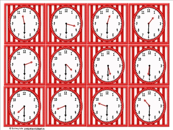 Mouse Matched the Clocks: Telling Time to the Hour, Half Hour, and Quarter Hour