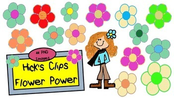 Hicks Clips Flower Power