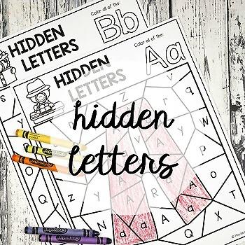 Hidden Alphabet Letters
