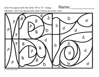 Hidden Alphabet Worksheets