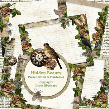 Hidden Beauty PowerPoint Presentation and Digital Printable Files